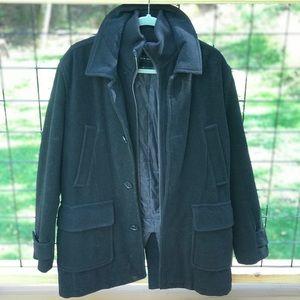 Andrew Marc men's pea coat